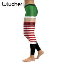 джинсы женские оптовых-2018 New Christmas Sexy Leggings For Women Girls Novelty Printing Leggins Plus Size Funny Fitness Legins Ankle-Length Pants