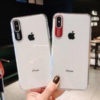 iphone мобильный объектив оптовых-Роскошные дизайнерские чехлы для телефонов Apple 8plus чехол для мобильного телефона полный пакет из 6S прозрачного защитного кольца для объектива с жесткой оболочкой 6plus силикагель