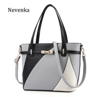 Wholesale designs fur handbags resale online - Nevenka New Design Women Fashion Style Handbag Female Luxury Chains Bags Sequined Zipper Messenger Bag Quality Pu Leather Tote Y19051502