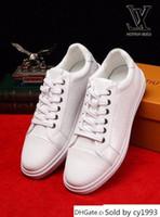 ingrosso pizzo bianco in rilievo-Rilievo scarpe bianche lace-up 2058 SANDALI guan uomini scarpe da sera STIVALI FANNULLONI DRIVERS BUCKLES SNEAKERS