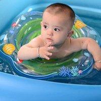 almofadas flutuantes venda por atacado-Piscina Acessórios Acessórios do bebê Natação Anel com almofadas Floating Bebê Segurança do assento Float Swim Anel infantil Neck Float Círculo Crianças Swi ...