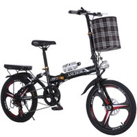 ingrosso ruote in carbonio pieghevole-New Soft Tail Bike 20 pollici ruota 6 velocità in acciaio al carbonio freno a disco bici pieghevole bici da donna bicicletas bicicletta MBX