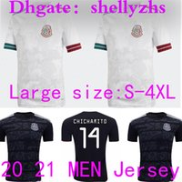 Wholesale mexico national team for sale - Group buy SIZE S XL Mexico Soccer Jerseys Away H LOZANO DOS SANTOS CHICHARITO National Team Man Adult Sports Football Uniform Shirts