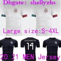 Wholesale chicharito mexico shirt resale online - SIZE S XL Mexico Soccer Jerseys Away H LOZANO DOS SANTOS CHICHARITO National Team Man Adult Sports Football Uniform Shirts