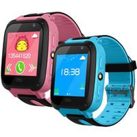 ingrosso vigilanza di emergenza per i bambini-Q528 Kids Smart Watch Kid SmartWatch 1.44 pollici Touch Screen SOS Emergency GPRS Alarm Camera Anti-perso Orologio Orologio da polso Baby Clock