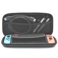 Wholesale portable games consoles for sale - For Nintendo Switch Game Console Bag Carrying Case Hard EVA Shell High Quality Portable Carrying Bag Protective Pouch Bag Switch