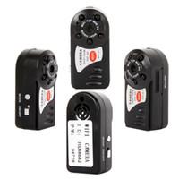 tragbarer drahtloser monitor groihandel-Tragbare Mini Wifi IP-Kamera Q7 drahtlose Wifi IR-Nachtsicht-Videokamera Home Security Überwachung Camcorder APP Remote Monitor