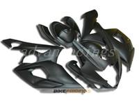 conjunto de carenagens moto venda por atacado-3Gifts Novo ABS motocicleta moto Fairings Kits Apto Para Suzuki GSXR1000 K5 2005 2006 05 06 GSX-R1000 carroçaria conjunto legal preto fosco