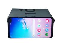 64 gb goophone al por mayor-2019 Llegada Goophone S10 6.3ich 1440 * 720 Quad Core Ram 1GB Rom 8GB Huella digital Iris Desbloqueo Teléfono inteligente