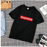 tshirt homme célèbre marque achat en gros de-2018 Célèbre Marque Vêtements T-shirts De Marque Hommes T-shirt Seulement T-Shirt Coton Imprimé Hommes T-shirt Homme Fitness Camisetas NK Tshirt Femmes Sous