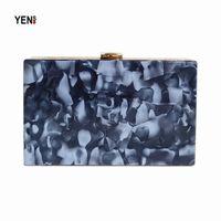 камуфляжная муфта оптовых-New Acrylic  Fashion Women Evening Bags  Camouflage Patchwork Wallet Woman Party Prom Elegant Handbags Casual Clutch