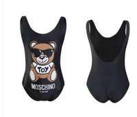tiere frau sexy großhandel-Tier Gedruckt Schwarz Bademode Designer Marke Frauen Sexy Ein Stück Mode Sommer Frauen Luxus Qualität Beachwear