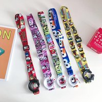 Wholesale travel accessories for sale - Beverage Bottles Lanyard Water Bottle Buckles Straps Cartoon Portable Hiking Outdoor Travel Kettle Hanging Rope Fashion Accessories OOA6536