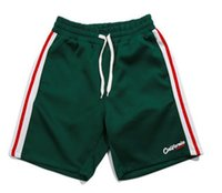 ingrosso pantalone di sudore baggy-Pantaloncini attillati da uomo popolari giapponesi estate Pantaloni larghi da spiaggia Pantaloni larghi da uomo