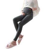 melhor maternidade venda por atacado-Best Selling Moda Mulheres Grávidas Legging Pant Mulheres Grávidas Legging Outono Inverno Maternidade Maternidade Quente Roupas de Maternidade