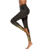 08851fc3b7f08f Fitness Yoga Pants Leggings Stretch Slim Mesh 2019 Women Workout Hot  Stamping Print Leggings Fitness Sport Yoga Athletic Pants