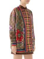 ağır bayanlar toptan satış-2019 moda tasarım G ev sonbahar ve kış yeni ağır ithal makine jakar kadın uzun kollu ceket hococal boyut S-L kazak örme