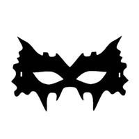 attraktive schwarze männer großhandel-Filzstoffmaske Attraktive Schwarze Kreative Coole Maske Für Männer Halloween Frauen Leistung Cosplay