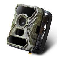 ingrosso telecamere gommose-Vai Caccia esterna macchina fotografica di sport Spostare macchina fotografica di rilevazione Monitor infrarossi 2''lcd Camera