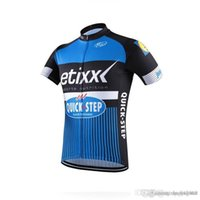 Wholesale etixx jersey for sale - Group buy 2018 Etixx Quick step Mens Cycling Jersey short sleeve Jersey Bicycle Breathable cycling clothes Bicycle Clothing summer MTB Bike wear A0701