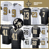 Wholesale saints jerseys for sale - 9 Drew Brees Alvin Kamara Jersey New  Orleans Saints Marshon 956f52f5e