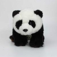девушка панда мягкая игрушка оптовых-28 см Ty Beanie Boos Kawaii Мягкие Прекрасные Супер Симпатичные Панды Подушки Игрушки Куклы Фаршированные Плюшевые Животные Девушки Дети Подарки
