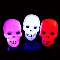 tienda de luz nocturna al por mayor-5 x Noche de luz para Halloween Festival decorativo luz LED de colores Noche para el partido Decoración Inicio Escaparate de alimentación A3