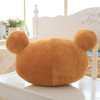 Wholesale rilakkuma stuff toy resale online - 30 cm New Big Brown Rilakkuma Plush Toy Teddy Bear Stuffed Animal Doll Birthday Gift