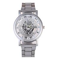 новые стильные наручные часы оптовых- Stylish Men Watches New Fashion Man Leather Band Analog Quartz Round Wrist Watch Casual Sports bayan kol saati 2019 Mujer