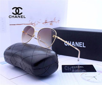 Wholesale fashionable sunglasses resale online - Fashionable new aviator sunglasses female brand designer sunglasses female vintage outdoor driving accessories are available
