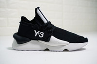 Wholesale y3 shoes for sale - Group buy 2018 Y Kaiwa Chunky Mens Casual Shoes Luxurious Fashion Yellow Black Red White Y3 Boots Sneakers With Box