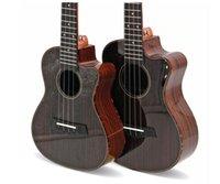 ukulele 23 venda por atacado-Frete grátis 23 polegada jacquard ukulele canto de luz de alta qualidade pequena guitarra ukulele iniciante instrumento musical direto da fábrica