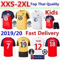 Wholesale LOSC Lille Soccer Jersey Tshirt OSIMHEN Home Football Shirt BAMBA T shirt R SANCHES Adult Kids Kits Shirts Camisa Camiseta Maillot