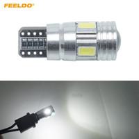 2PCS White T10 194 168 501 921 W5W 12 LED SMD Car Side Wedge Light Bulb Lamp ED