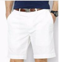 top mideni toptan satış-Drop Shipping yüksek kaliteli pamuk erkek şort erkek moda rahat şort erkek midilli top şort 6 renkler boyut M-XXXL