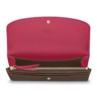 inhaber für geldbörse großhandel-Designer brieftasche frauen Brieftasche Reißverschlusstasche Weibliche Designer Geldbörse Mode Kartenhalter Tasche Lange Frauen Tasche mit Box