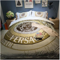Wholesale 3d designer bedding sets for sale - Group buy TOP quality cotton reactive print Designers d bedding sets flowers print comforter duvet covers bedclothes bed Linen