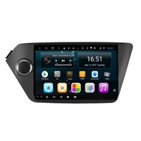 hd tuner android toptan satış-HD IPS Android 8.1 Araba PC Araba GPS Multimedya Oynatıcı Araba Radyo Tuner KIA RIO için