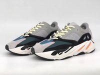 Wholesale Massage - With Box 700 Wave Runner Mauve Running Shoes Men 2018 New Kanye West Designer Sneakers top quality Womens reflective winter boots size