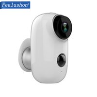 Wholesale wireless wired alarms for sale - Group buy Fealushon D1 Wire Free Battery IP Camera Outdoor Wireless Weatherproof Security WiFi Camera CCTV Surveillance Smart Alarm