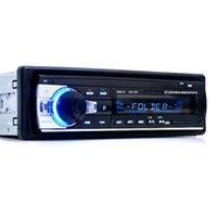 ingrosso kit di lettore mp3 usb-In Dash 1 Din Car Stereo FM Radio Lettore audio MP3 Supporto Bluetooth Telefono USB