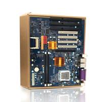 isa motherboards großhandel-Industrielles Motherboard G41 mit 2 * DDR3 4 * PCI 3 * ISA