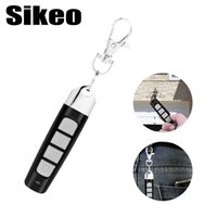 Wholesale garage gate openers for sale - Group buy Car Garage Gate Door Remote Key MHZ Buttons Auto Pair Copy Remote Garage Door Opener Control Duplicator