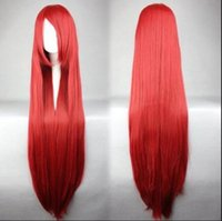 Wholesale fairy tail erza scarlet cosplay for sale - Group buy WIG LL NEW STYLE Free gt gt gt cm Long Fairy Tail Erza Scarlet Cosplay Karneval Anime Costume Cosplay Wig