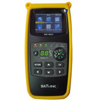 Wholesale dvb s2 finder for sale - Group buy Original Satlink WS Satellite Finder Inch LCD Display DVB S2 FTA CKU Band Satlink Digital Satellite Finder Meter WS
