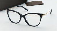 katzenaugen klar rahmen groihandel-Neue Modedesigner-Brillen mit klaren Gläsern 5934 Classic Cat Eye Brillen Avantgarde Wild Style Optische Spitzenqualität im Koffer