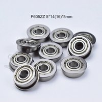 Ball Bearings with Flange MF74ZZ 4x7x2.5mm Shielded Chrome Bearings 10 Pieces