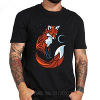 Wholesale short tails for sale - Group buy 2019 Summer T Shirt Tribal Fox Long Tail Men s Tshirt Clothes O Neck Fitness Short Sleeve T Shirt Men Hip Hop T Shirt