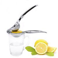 elle limon sıkacakları toptan satış-Ağır Manuel Basın Sıkacağı Çinko Alaşım Limon Sıkacağı Portakal Sıkacağı Narenciye Kireç Sıkacağı Meyve Araçları Mutfak Alet Bar Araçları