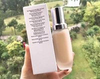 Famous brand makeup soft liquid foundations the fluid long wear foundation 30ml Dropshopping Natural and Waterproof